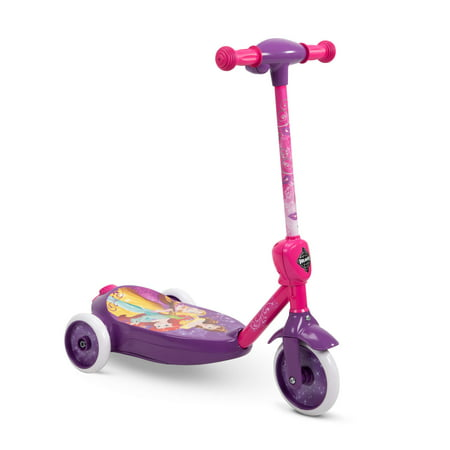Disney Princess Kids (Disney Princess 6V 3-Wheel Electric Ride-On Bubble Scooter for)