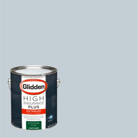 Glidden High Endurance Plus, Exterior Paint, FOSTORIA GLASS BLUE / , # 90BG 63/043
