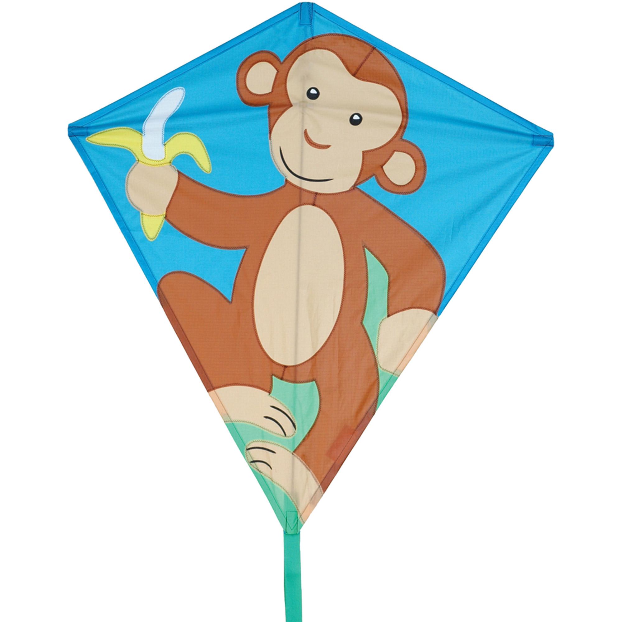 "Premier Designs 30"" Diamond Kite, Monkey"