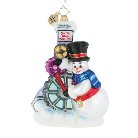 Christopher Radko Gearing Up For Christmas Ornament - Retired Radko Halloween Ornaments