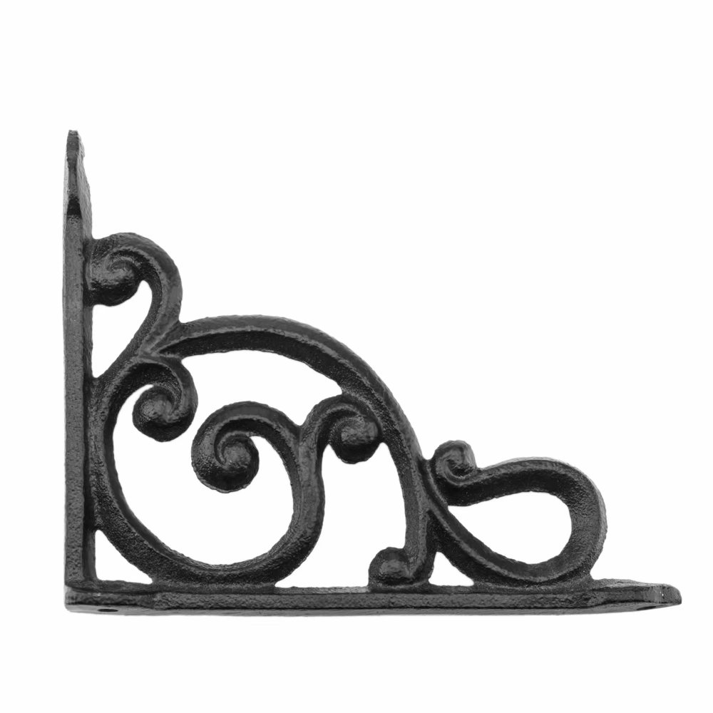 Garden Braces Shelf Bracket 6 Cast Iron Antique Style Web  Brackets