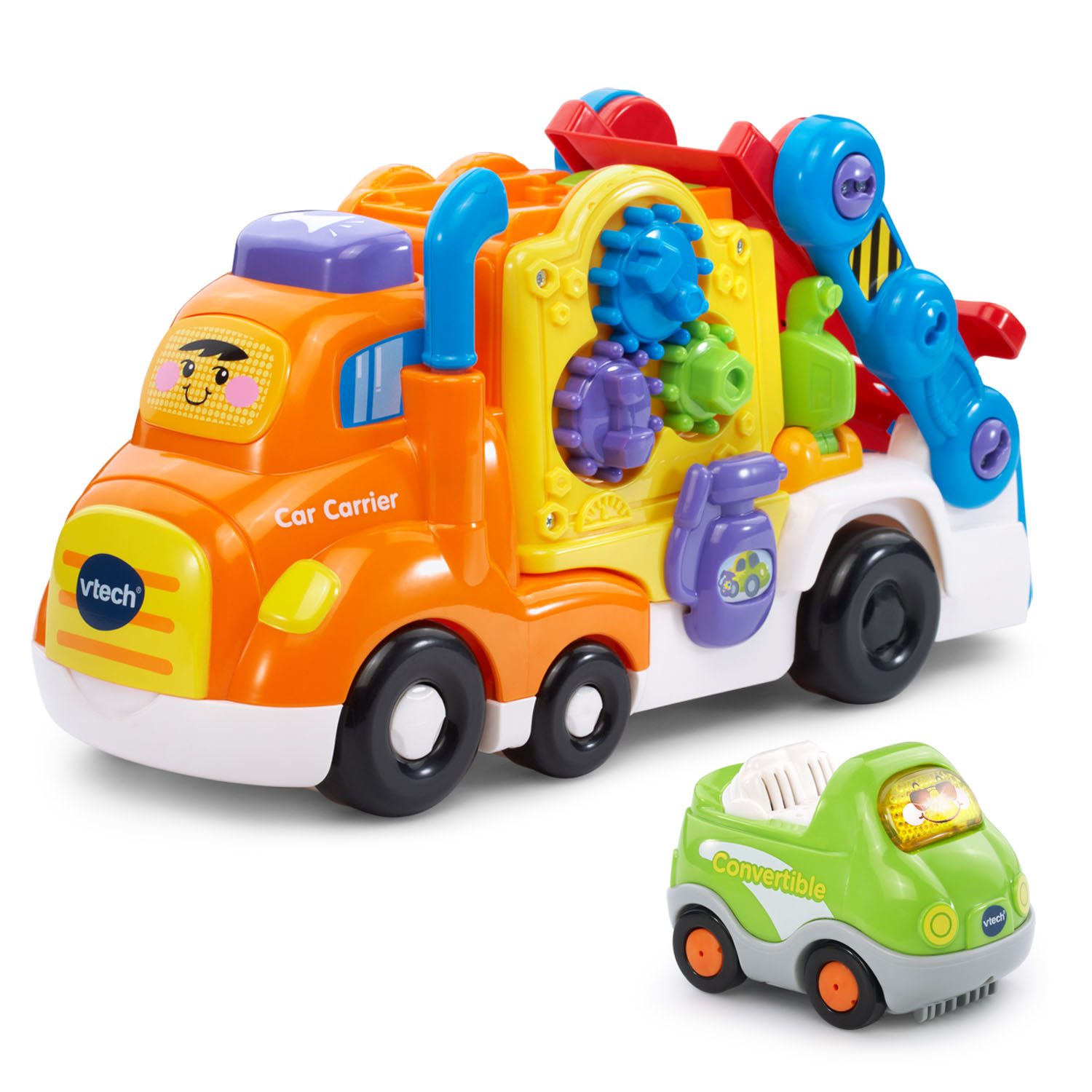 VTech® Go! Go! Smart Wheels™ Deluxe Car Carrier™