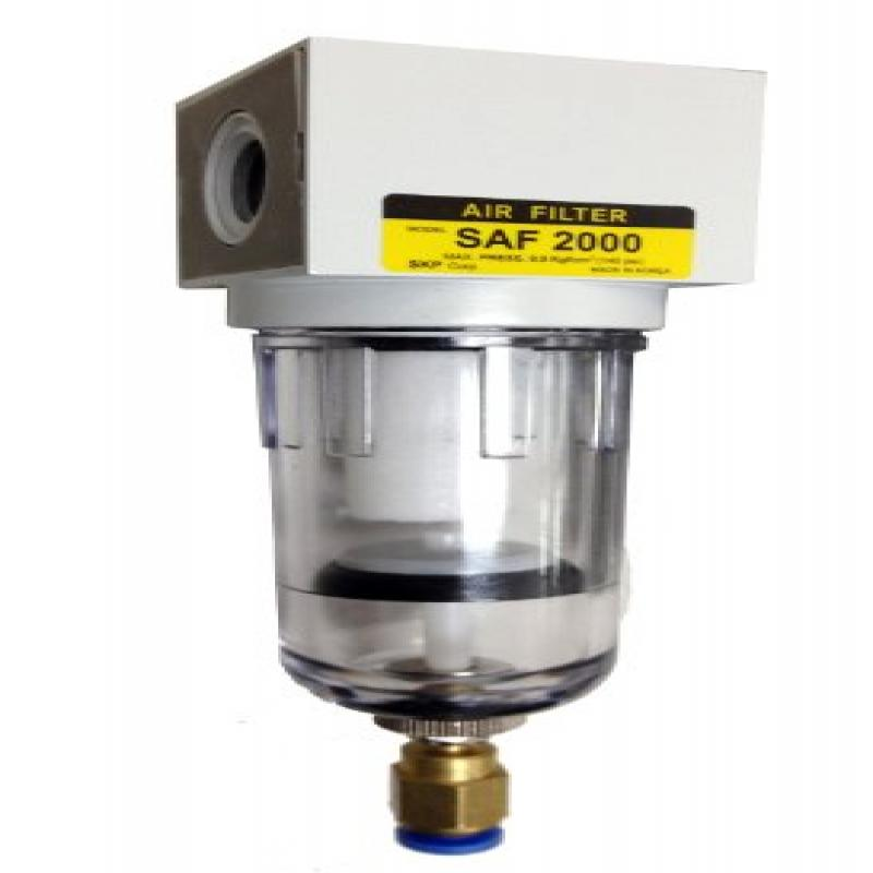 PneumaticPlus SAF2000M-N02BD Miniature Compressed Air Par...