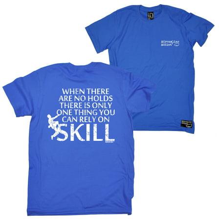 54054f535a ... Climbing Tee - No Holds Skill Mens T-Shirt Cheap T-Shirts Humour  Bouldering Tees Birthday Gifts Slogans Presents Tshirts Gear Funny T Shirts  Novelty Chr