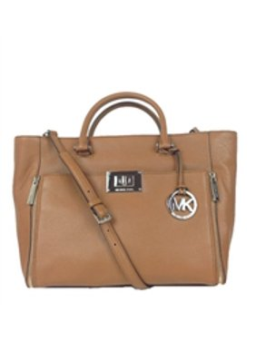 4d15a2c483e83f Product Image Michael Kors Sloan Leather Large Convertible Tote, Luggage