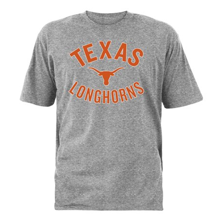 Texas Longhorns Tri Color (Men's Heathered Gray Texas Longhorns Wirch T-Shirt)