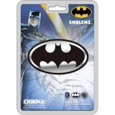 Batman Chrome Auto Emblem -