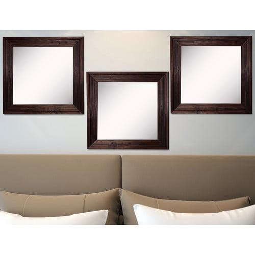 Rayne Mirrors Ava Barnwood Wall Mirror (Set of 3)