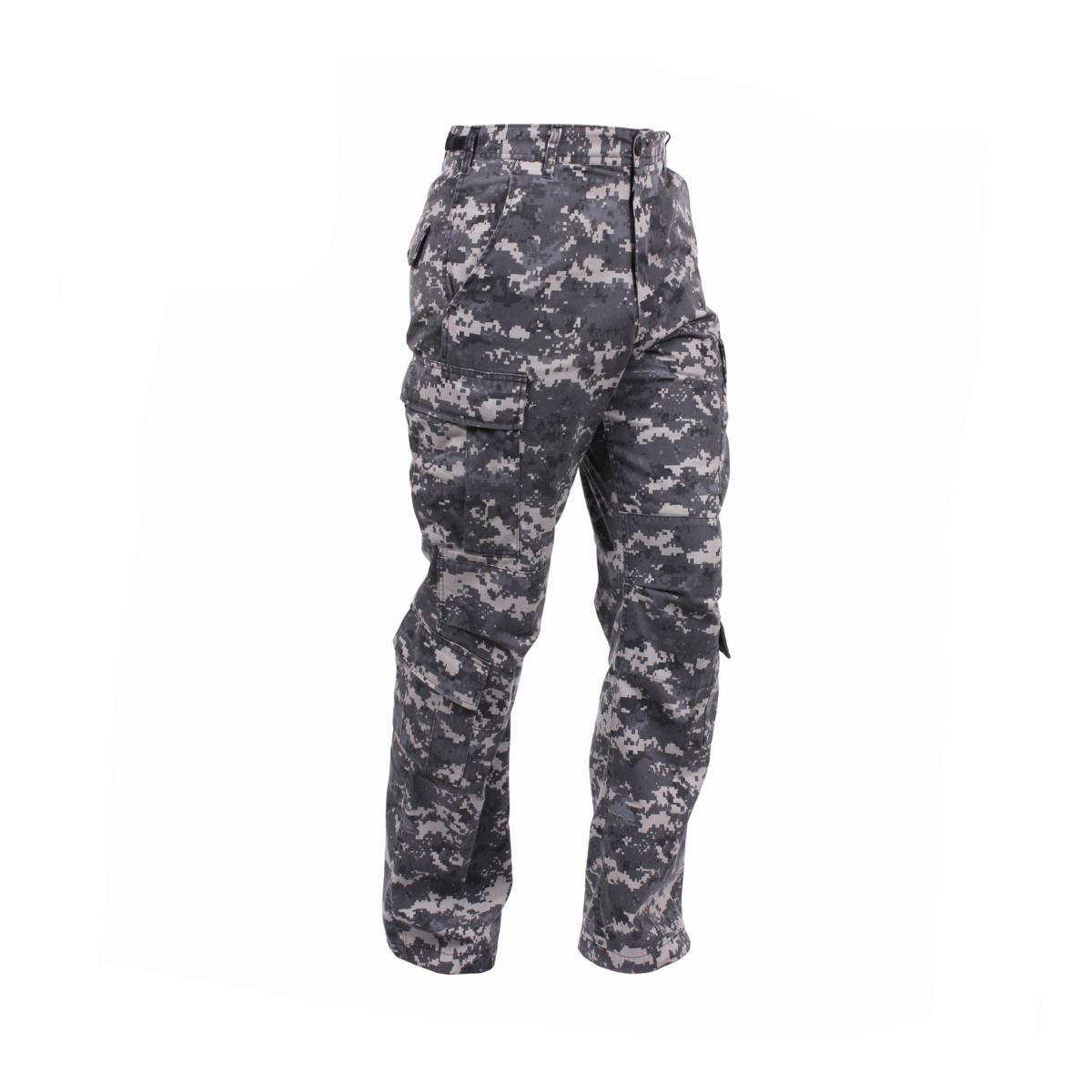 Click here to buy Rothco Vintage Camo Paratrooper Fatigue Pants, Subdued Urban Digital Camo by Rothco.