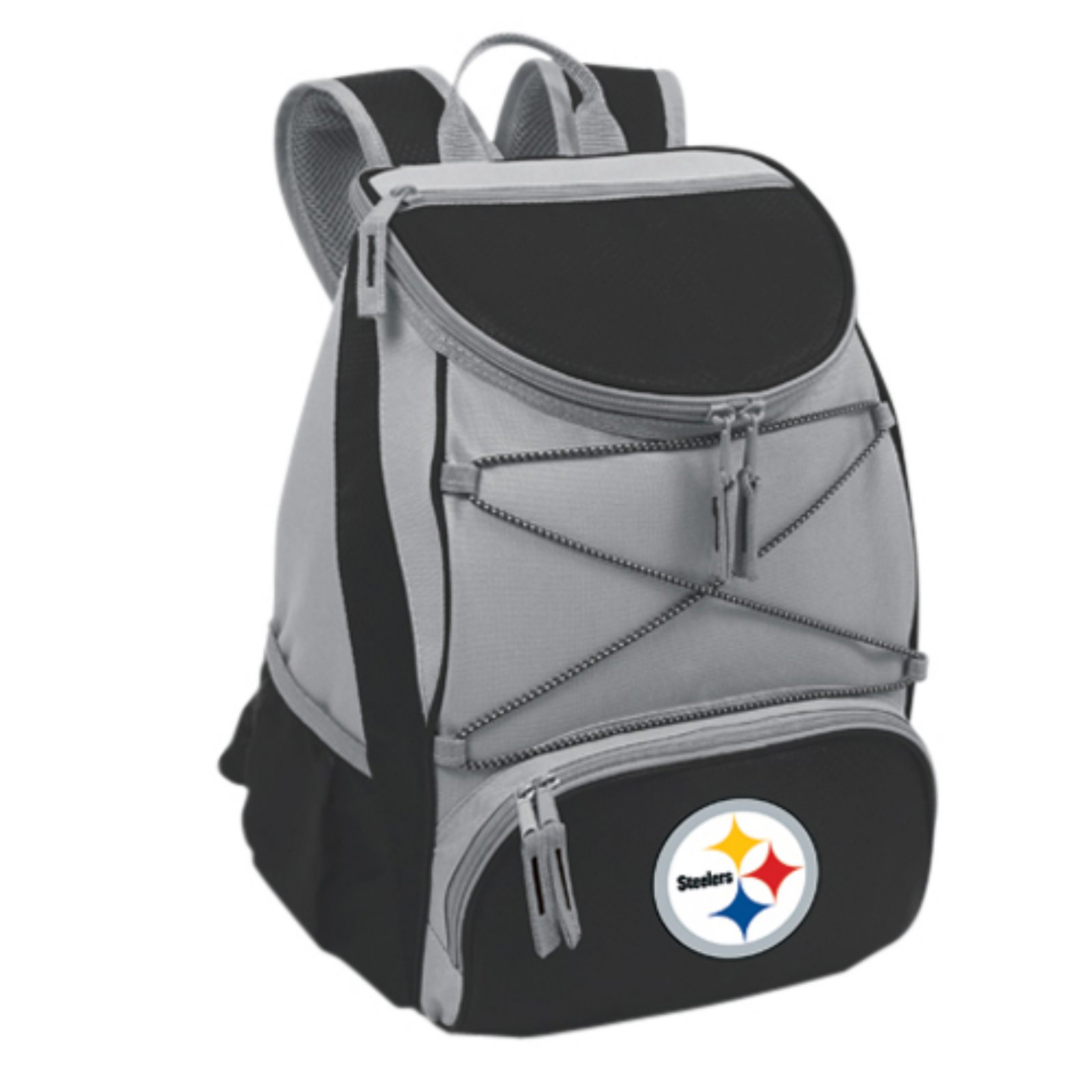 Picnic Time PTX Cooler, Black Pittsburgh Steelers Digital Print