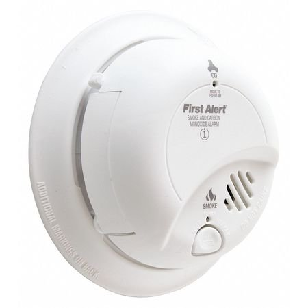 BRK Electronics SCO2B Smoke and Carbon Monoxide Alarm with 9V