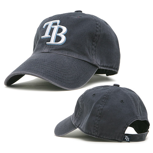 Tampa Bay Rays '47 Youth Clean Up Adjustable Hat - Navy - OSFA