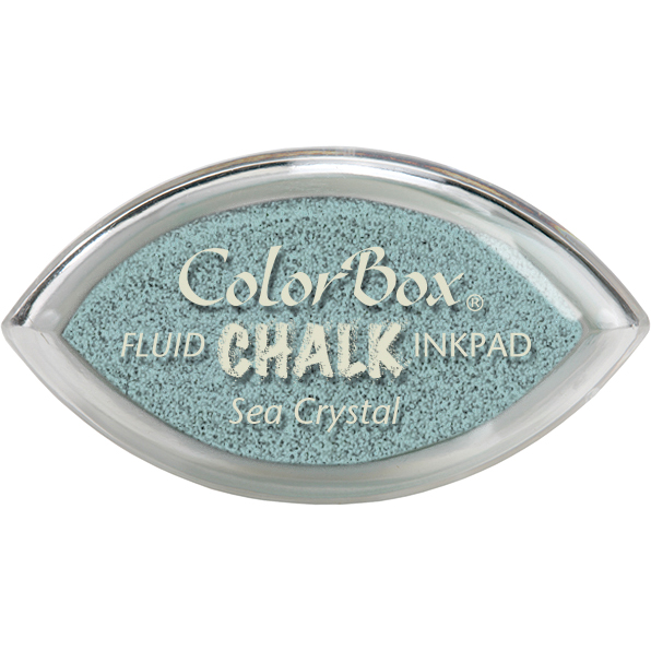 ColorBox Chalk Cats Eye Ink Pads, Sea Crystal Multi-Colored