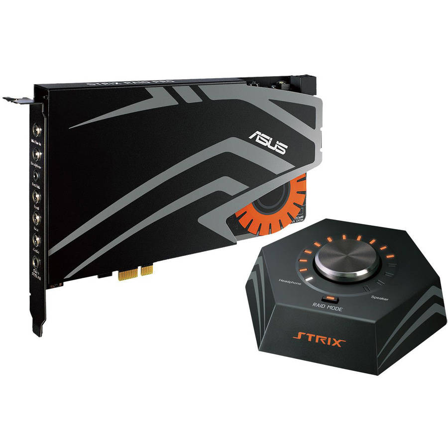 Strix Raid DLX 7.1 PCI Express Sound Card by ASUS