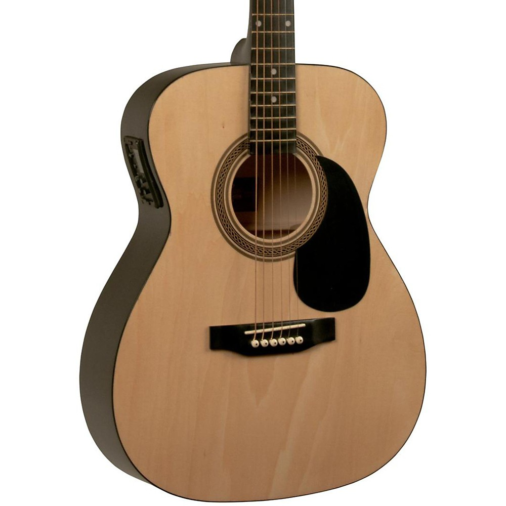Rogue RA-090 Concert Acoustic-Electric Guitar Natural