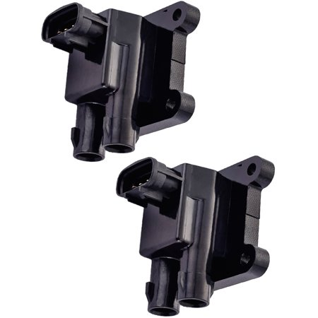 Naturally Aspirated Gas Stage (Set of 2 Ignition Coils For 1999 Toyota Corolla VE Sedan 4-Door 1.8L 1794CC L4 GAS DOHC Naturally Aspirated Compatible with UF246 C1152 IC371)