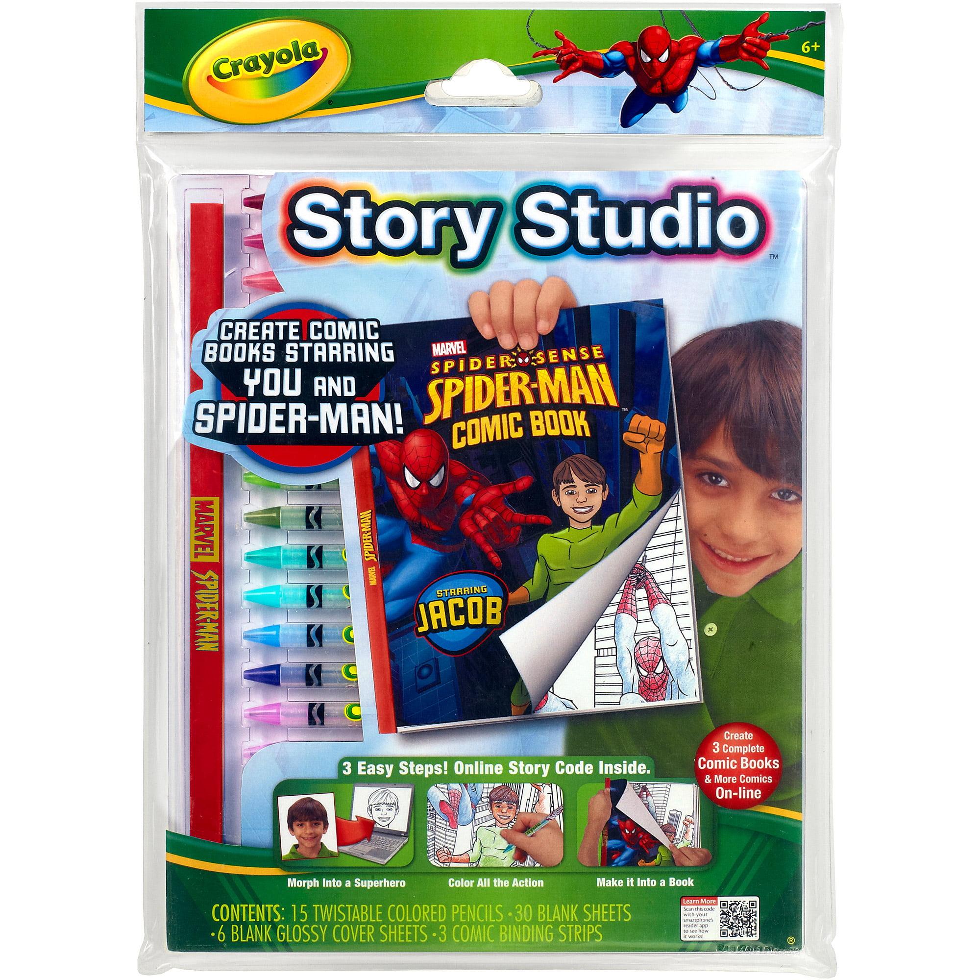 Crayola Story Studio Disney, Spiderman