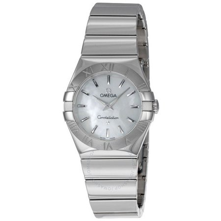 Omega Constellation Mother of Pearl Dial Steel Ladies Watch 123.10.27.60.05.002
