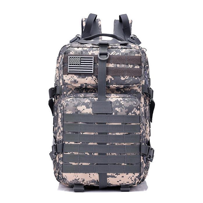 Camping Hiking Bag 40L Military Tactical Army Rucksack Backpack //Army Backpack
