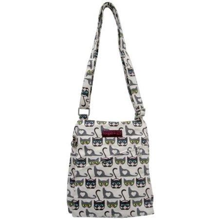 e17f13a642c8 Bungalow 360 Small Vegan Messenger Bag - Cat