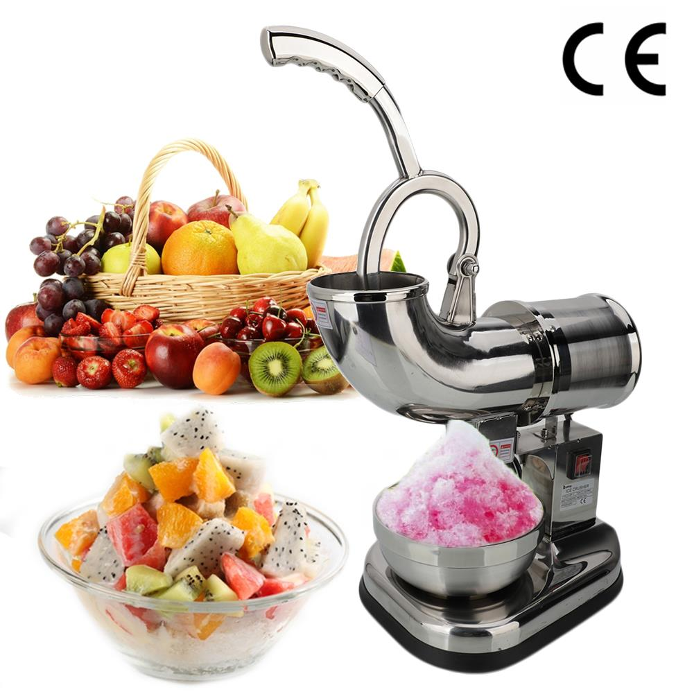 Ktaxon Electric Ice Crusher, Ice Shaver Machine, Snow Cone Maker, Shaved Ice Machine