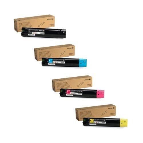 Xerox 106R01507, 106R01508, 106R01509, 106R01510 High Yield Toner Cartridge Set