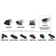 Whispbar Special Fitting Kits-Size:K325 Flush