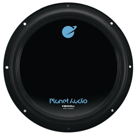 Planet Audio Anarchy 12 inch DUAL Voice Coil (4 Ohm) 1800-watt Subwoofer (12 inch slim subwoofer box)