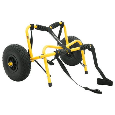 RAD Sportz Kayak Trolley Pro Deluxe Kayak Cart Airless Tires 150 LB Cap -