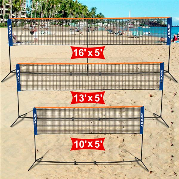 Yaheetech Portable Badminton/Volleyball/Tennis Net Stand