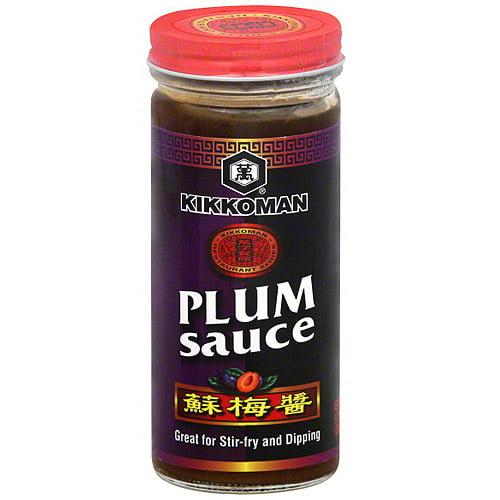 Kikkoman Plum Sauce, 9.3 oz (Pack of 6)
