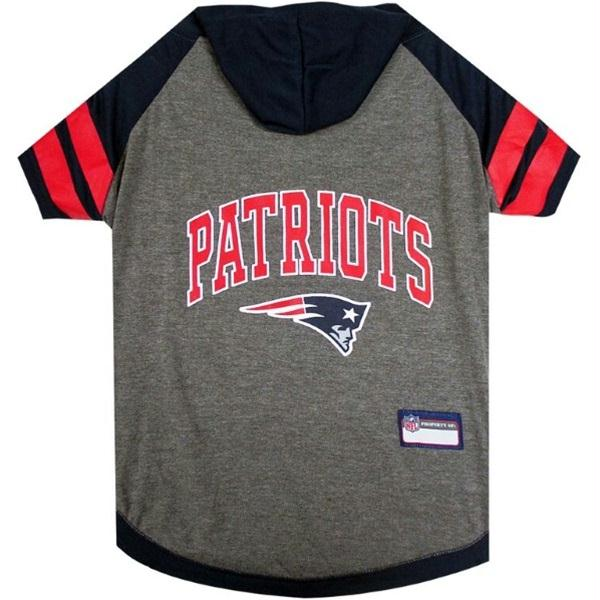 New England Patriots Dog Hoodie T-Shirt