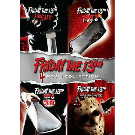Friday the 13th, Parts 1-4 (DVD)