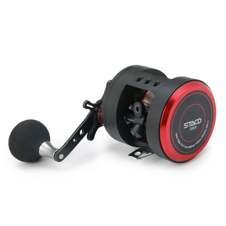 10+1 BB Fishing Reel Left/Right 5.6:1 Trolling Reel Drum Fishing Reel Snakehead Bass Salmon Fishing Reel