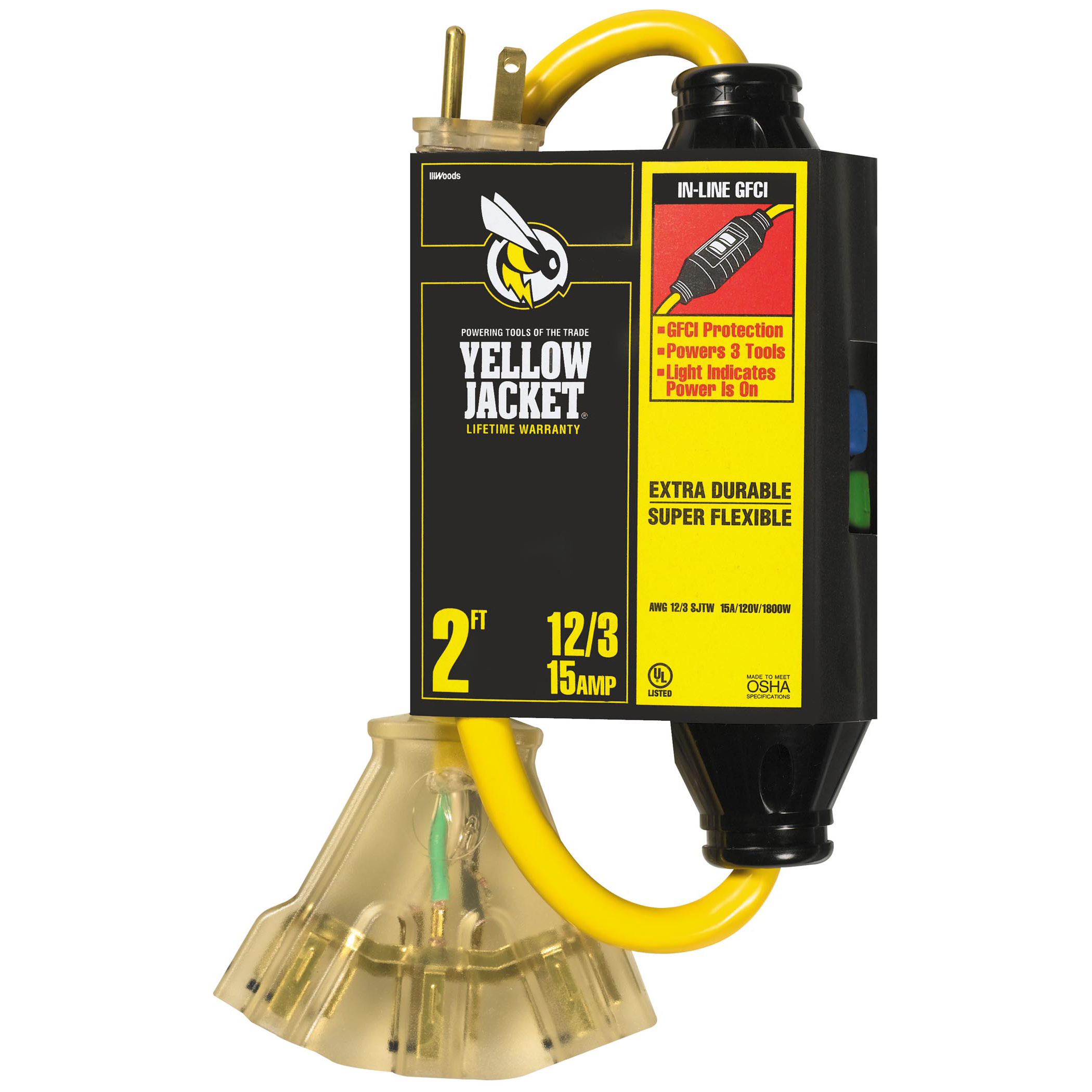 Yellow Jacket 2816 Yellow Jacket® with Ground Fault Circuit Interrupters