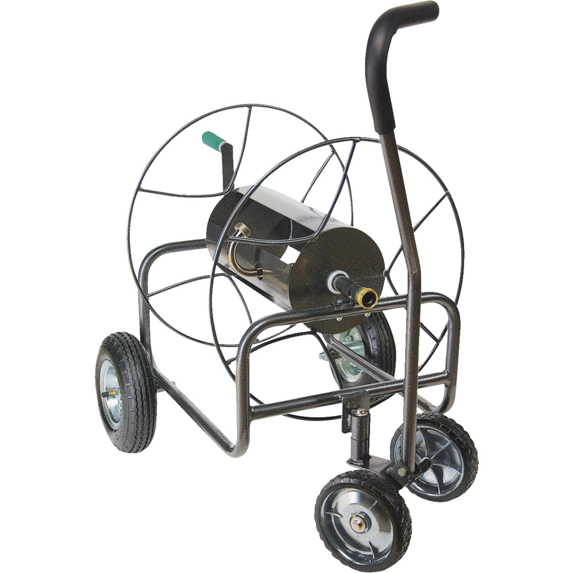 EZ Turn 4-Wheel Hose Reel by Yard Butler