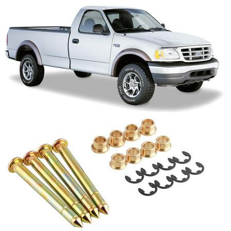 - Xotic Tech Door Hinge Pins Pin Bushing Two Doors Kit For Ford F150 F250 F350 Bronco 38410