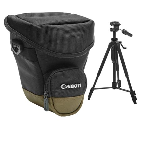 Get Canon Zoom Pack 1000 Holster Case + Tripod for EOS 6D, 70D, 7D, Rebel T3, T3i, T5, T5i, T6i, T6s, SL1 DSLR Cameras Before Too Late