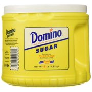 Sugar, Granulated, 4LB Canister Domino - 1 Canister