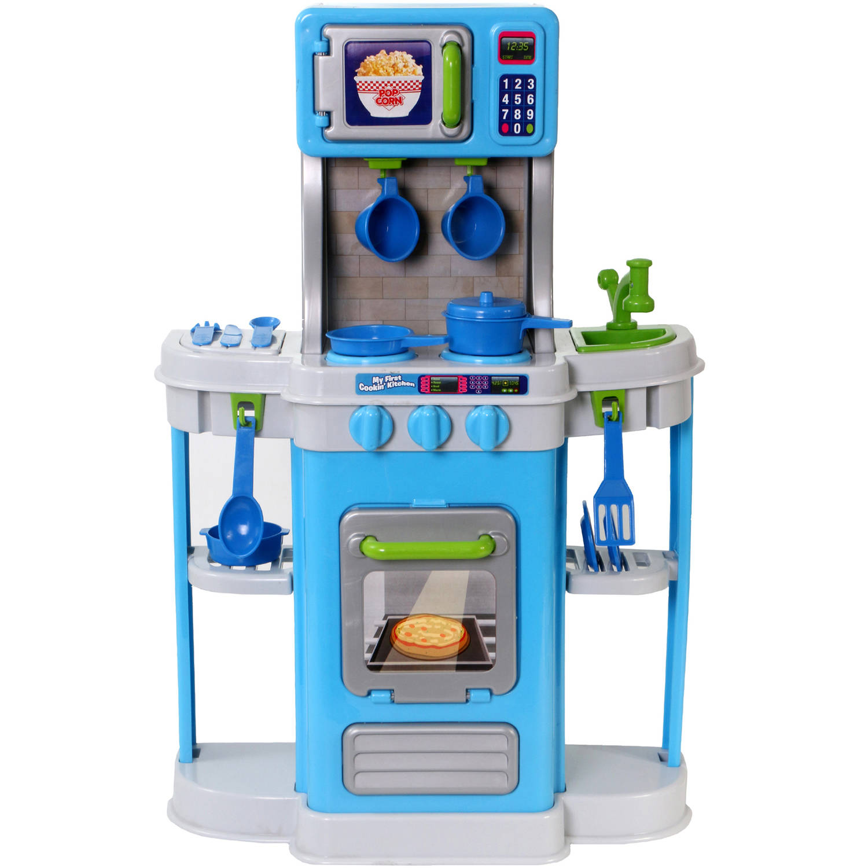 Spark Kitchen Play Set 18pc - Walmart.com