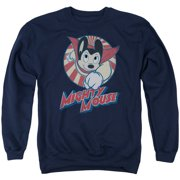 Mighty Mouse The One The Only Mens Crewneck Sweatshirt