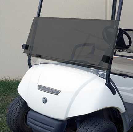 YAMAHA G29 Golf Cart ALL AMERICAN™ Folding Flip Windshield-Tinted/Clear