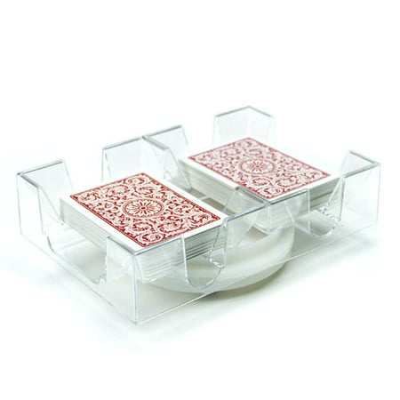 2 Deck Rotating Playing Card Tray