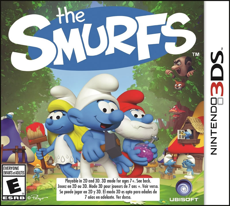 The Smurfs, Ubisoft, Nintendo 3DS, 887256015398