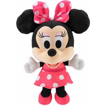 Disney Minnie Mouse Silly Gal Minnie Mouse Plush Walmart Com