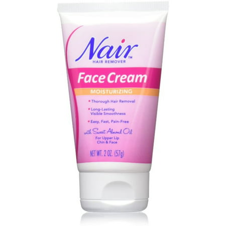 Nair Hair Remover Moisturizing Face Cream 2 oz (Pack of (Face Cream Hair Remover)