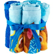 Nickelodeon Paw Patrol Rescue Crew Wash Cloth Set, 6 Piece
