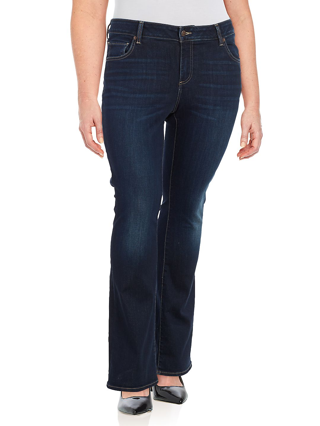 Plus Ginger Bootcut Jeans