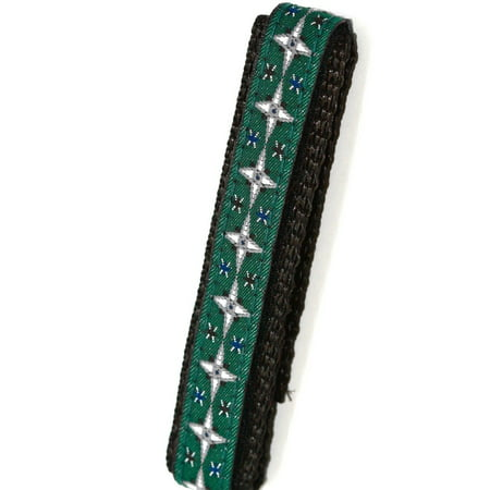 CHUMS THE BAND 12-14MM HOOK & LOOP STAR PRINT ONE PIECE ACTION SPORT WATCHBAND Band Star Wrist Watch