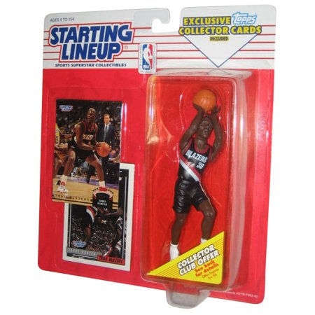 1993 Starting Lineup Figure (NBA Basketball Starting Lineup Terry Porter Blazers Figure (1993) w/)